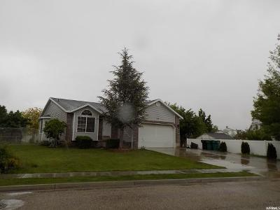 Clearfield Single Family Home Under Contract: 235 E 2450 S