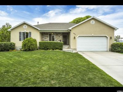 American Fork Single Family Home For Sale: 503 W 960 N