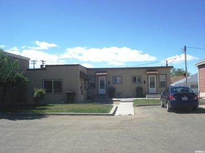 Price Multi Family Home For Sale: 122 E 100 S