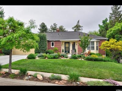 Salt Lake City Single Family Home For Sale: 2458 E Kensington Ave
