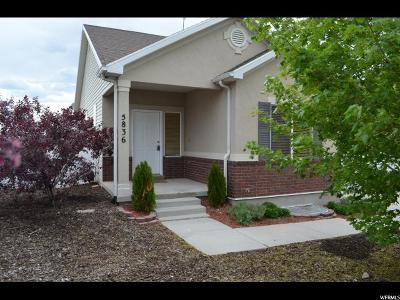 Herriman Single Family Home For Sale: 5836 W Arlinridge