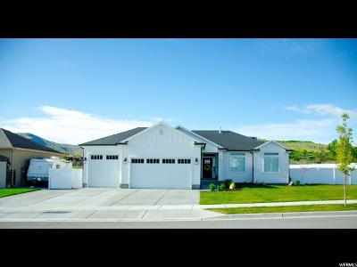 Herriman Single Family Home For Sale: 7283 W Mountain Mare Ln S