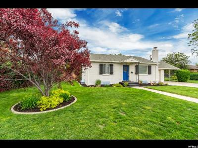 Salt Lake City Single Family Home For Sale: 459 E Wendell Way S