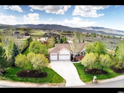 Heber City Single Family Home For Sale: 4828 E 1250 S