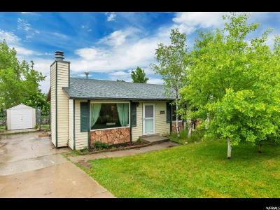 Salt Lake City Single Family Home For Sale: 5554 W Jeremiah Dr