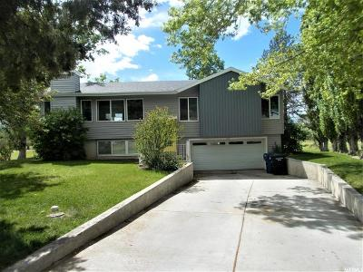 Stansbury Park Single Family Home Under Contract: 185 Country Club Dr