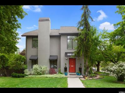 Salt Lake City Single Family Home For Sale: 181 N Alta St E