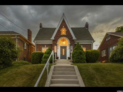 Salt Lake City Single Family Home For Sale: 475 N B St E