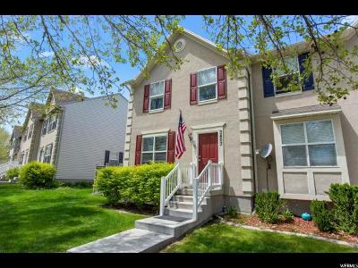 Eagle Mountain Townhouse For Sale: 3403 Peregrine Rd
