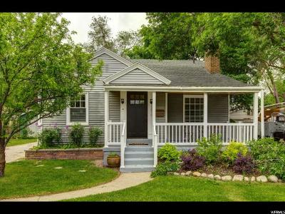Salt Lake City Single Family Home For Sale: 1870 E Downington