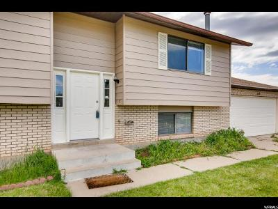 Roy Single Family Home For Sale: 3948 W 5525 S