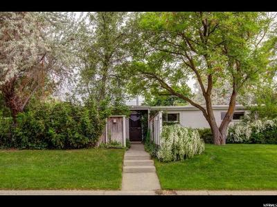 Sandy Single Family Home Under Contract: 1462 E 8425 S