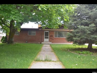 Brigham City Single Family Home Under Contract: 126 E 700 N