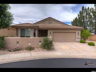 St. George Single Family Home For Sale: 4568 S Cinnamon Field Cir
