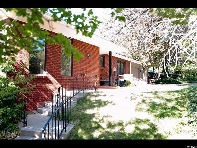 Holladay Single Family Home Under Contract: 3091 E 4430 S