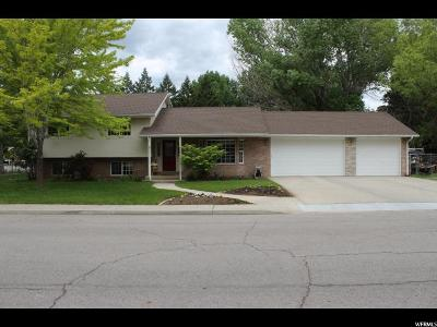Mapleton Single Family Home For Sale: 1633 N 300 W