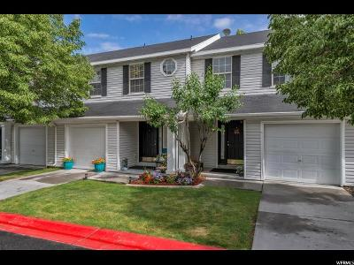 Tooele County Townhouse Under Contract: 38 W 1970 N