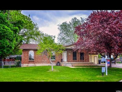 Clinton Single Family Home Under Contract: 642 W 1130 N