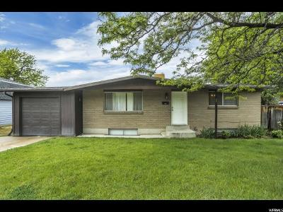 Sandy Single Family Home For Sale: 8440 S 1575 E