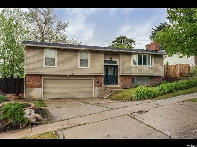 Roy Single Family Home Under Contract: 2632 W 4600 S
