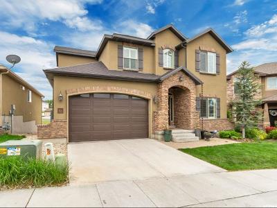South Jordan Single Family Home Under Contract: 521 W Aspen Peak Dr