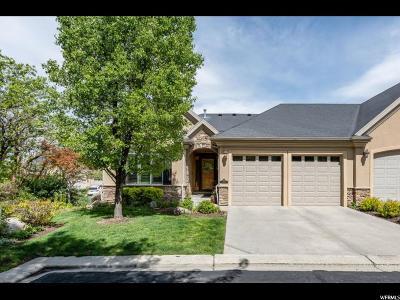 Draper Townhouse For Sale: 1546 E Fairway Ridge Rd