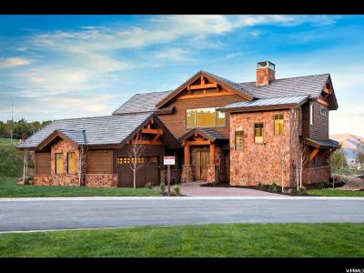 Heber City Single Family Home For Sale: 82 N Club Cabins Court (Lot Cc-21) #CC-21