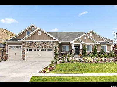 Herriman Single Family Home For Sale: 6831 W Buck Ridge Dr S