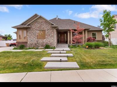Draper Single Family Home For Sale: 381 E Hedge Hollow Cv S