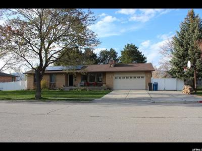 Single Family Home For Sale: 6196 W 9740 N