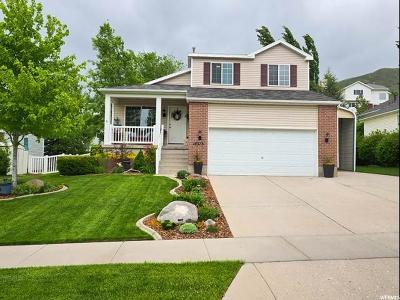 Draper Single Family Home Under Contract: 14375 S Lapis Dr E
