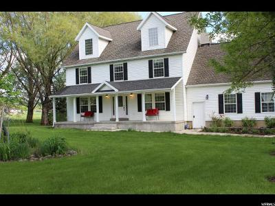 Mendon Single Family Home For Sale: 5481 W 2000 S
