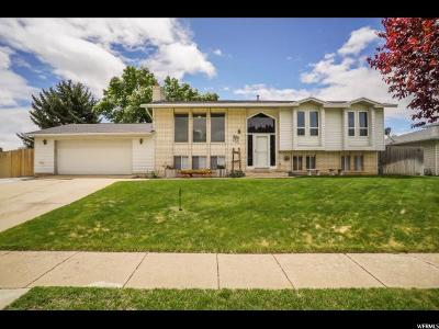 Roy Single Family Home Under Contract: 2011 W 4300 S