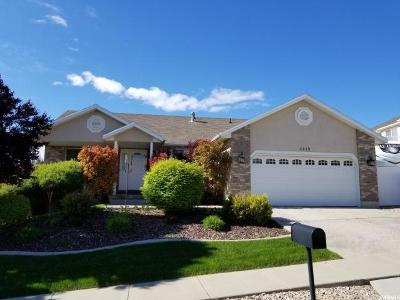 South Jordan Single Family Home Under Contract: 10134 S Crossley Ct W