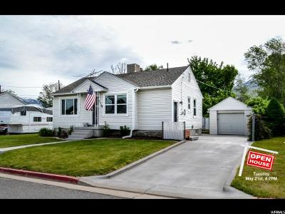 South Ogden Single Family Home Under Contract: 8 S Yale Dr