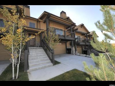 Heber City Townhouse For Sale: 14386 Council Fire Trl N