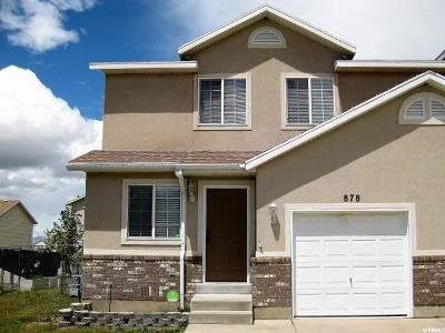 Tooele Single Family Home Under Contract: 878 W 700 S