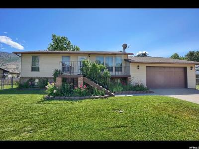 South Weber Single Family Home Under Contract: 7740 S 2050 E