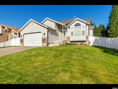West Jordan Single Family Home Under Contract: 6734 S Sol Rise Dr