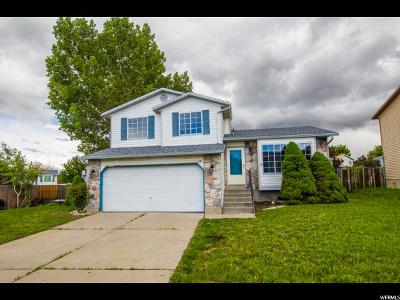 West Jordan Single Family Home For Sale: 5145 W Wake Robin Dr