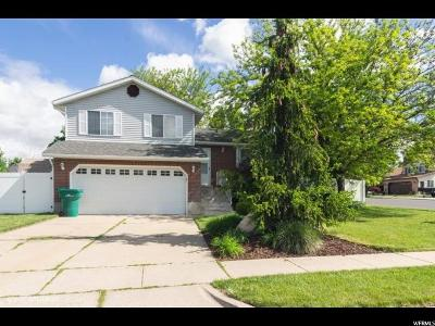 Layton Single Family Home For Sale: 162 W 1225 N