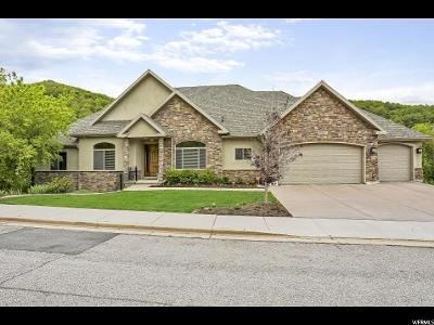Bountiful Single Family Home For Sale: 1284 E Canyon Creek Dr S
