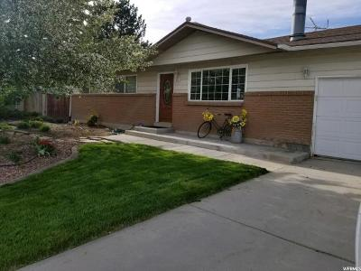 West Jordan Single Family Home For Sale: 2748 W Dimond Dr S