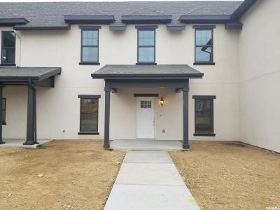 South Jordan Townhouse For Sale: 5117 W Black Twig Dr