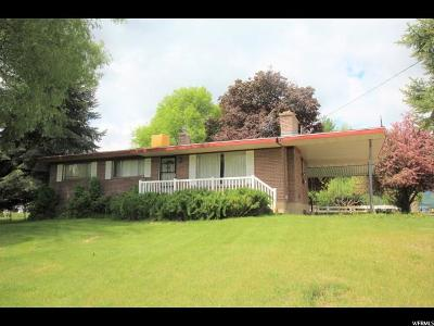 Young Ward Single Family Home For Sale: 3572 W 2200 S