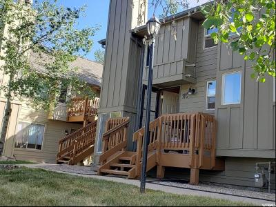 Park City Townhouse For Sale: 2100 Canyons Resort Dr #11-C