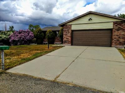 Spring Glen Single Family Home Under Contract: 1810 W 4420 N