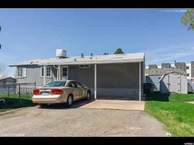 Layton Single Family Home For Sale: 93 Barrington Way