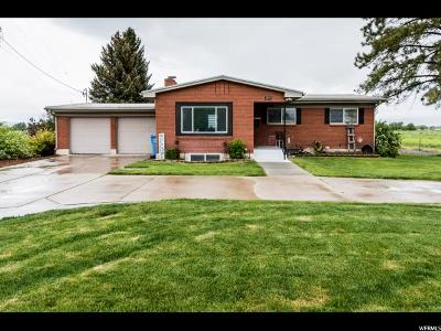 Wellsville Single Family Home For Sale: 2243 W 2200 S