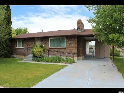 Orem, Provo Single Family Home For Sale: 383 N 100 E